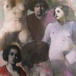 Kurt Mair - huile sur toile - format : 100 x 100 cm