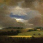 """Berg,""""Evasion"""", huile sur toile, 60 x 100 cm"""